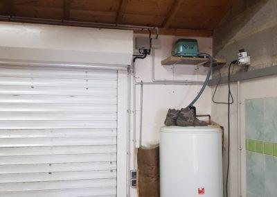 Aménagement de garage à La Plaine-sur-Mer - Avant