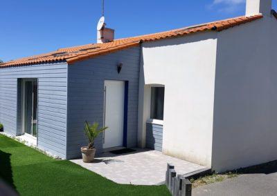 Surélévation d'une maison à La Plaine-sur-Mer