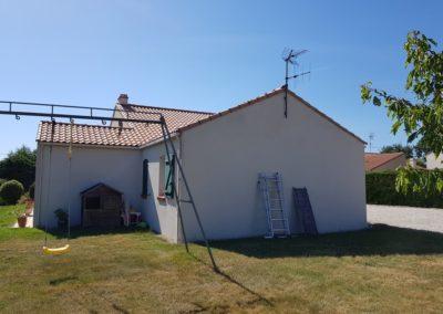 Rénovation de maison à Pornic : avant le ravalement de façade