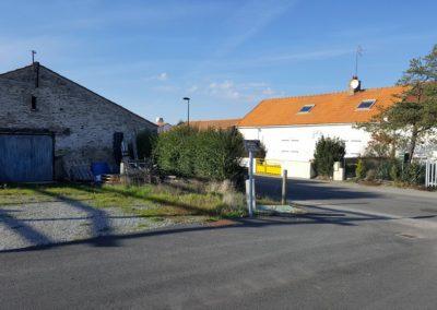 Rénovation d'un corps de ferme à Préfailles - Avant