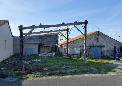 Rénovation d'un corps de ferme à Préfailles