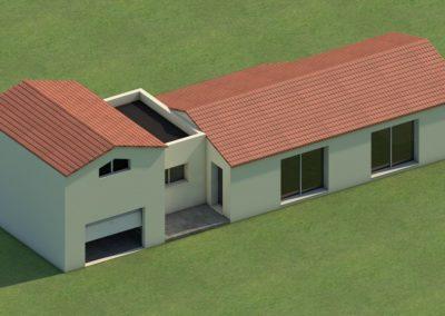 Plan 3D : construction de maison neuve à Préfailles