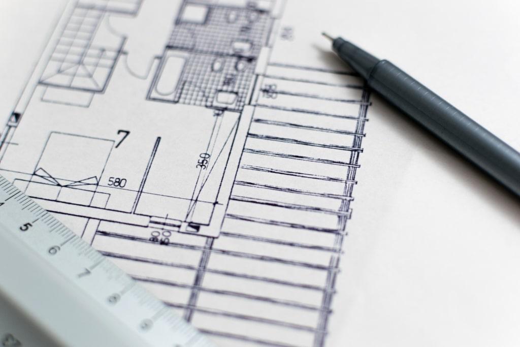 Conception et plans de la maison par Stéphane Marinho, maître d'oeuvre à Pornic
